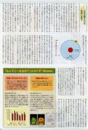 電磁波対策、静電気防止のBhadoが雑誌に取り上げられました